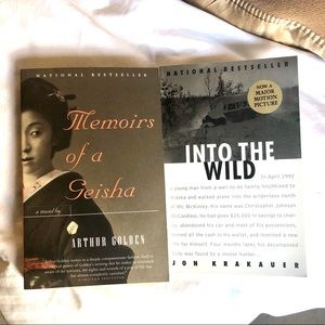 Other - Into the Wild & Memoirs of a Geisha Books